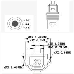 Premium Hq Foc Audio Toslink Cable pictures & photos