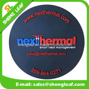 Householder Custom 3D Silicone Coaster with Customized Logo (SLF-RC017) pictures & photos