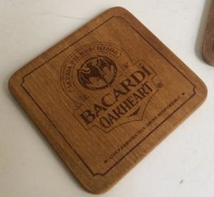New Fashion Wooden Beer Coaster Wholesale pictures & photos