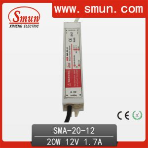 20W 6-12V Constant Current LED Driver Waterproof Power Supply IP67 pictures & photos