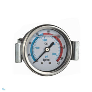 Contractors Pressure Gauge with Stainless Steel Case U-Clamp pictures & photos