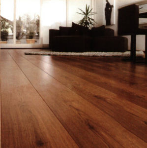 Golden Teak Engineered Wood Flooring Multi Layer pictures & photos
