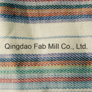 Beautiful and Fashionable Striped Linen Fabric (QF16-2502) pictures & photos