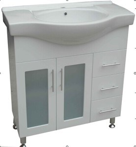 Sanitary Ware MDF Board Modern Design Bathroom Vanity (AF-75) pictures & photos