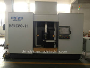 Horizontal CNC Drilling Milling and Tapping Machine for Angle Valve Machining AC-Hsk0390-11 pictures & photos