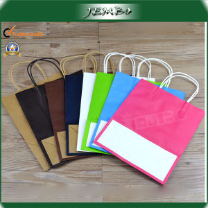 Promotional Kraft Paper Cloth Packing Bag pictures & photos