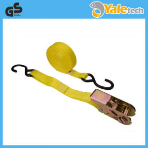 TUV/GS Certified Ratchet Buckle Lashing Straps pictures & photos