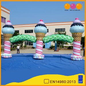 Outdoor Decoration Inflatable Ice Cream Arch for Sale pictures & photos