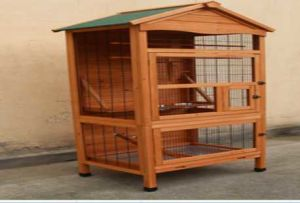 Bc1800 Wooden Pet Dog Bird House Hutch Kennel Cage