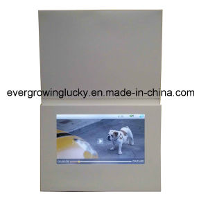 7inch Touch Screen Video Greeting Cards pictures & photos
