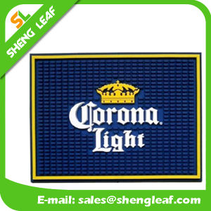 New Design Decoration Soft PVC Rubber Bar Mat (SLF-BM058) pictures & photos