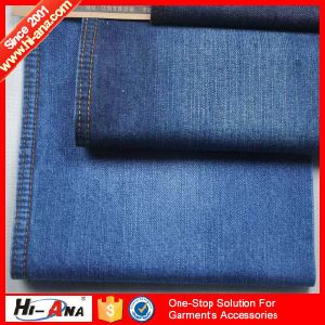 Using Eco-Friendly Materials Top Quality Jeans Fabric Prices pictures & photos