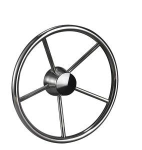 Wholewin Yk7-161-C Stainless Steel Marine Boat Steering Wheel