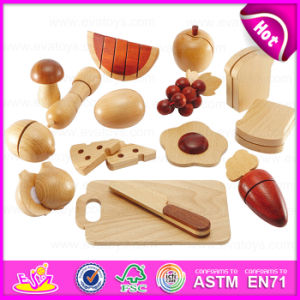Pretend to Play Wooden Food Toys for Kids, Special New Arrival Pretend Play Wooden Cutting Toy for Children W10b129 pictures & photos
