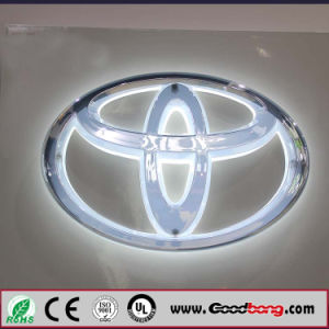 China Custom Acrylic Car Logo And Their Name China Illuminated - Car signs and names