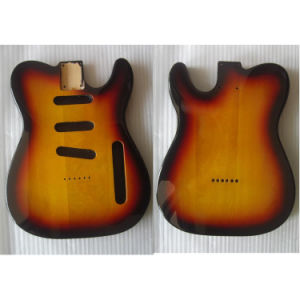 Basswood Tele Guitar Body Custom Electric Guitar Body Replacement pictures & photos