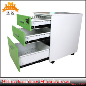 3 Drawer Movable Metal Furniture Mobile Steel Office Cabinet pictures & photos