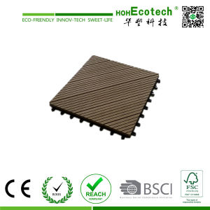 2015 Hot Sales Outdoor Plastic Wood Tile / WPC DIY Tiles pictures & photos