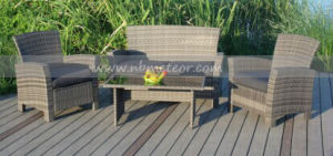 Mtc-132 Outdoor Rattan/Wicker Kd Style Sofa Set pictures & photos
