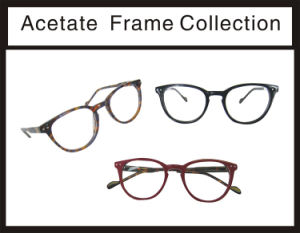 Fashion and Top New Acetate Optical Frame pictures & photos