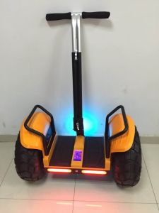 Newest Model Popular Two Wheel off-Road Electric Scooter Ourdoors pictures & photos