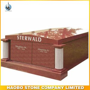 Cheap Western Granite Private Mausoleum Design pictures & photos