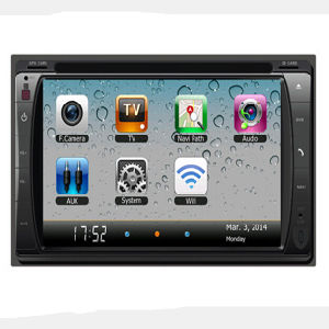 GPS Navigation HD Double 2 DIN Car Stereo DVD Player pictures & photos