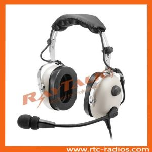 Dual Plug Pilot Headset Noise Cancelling Headphones pictures & photos