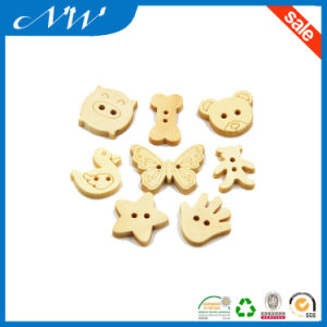 Wholsales Natural Different Style Shaped Wooden Button pictures & photos