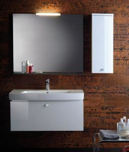 PVC Bathroom Cabinet with Wash Basin/High Quality Bathroom Vanity pictures & photos