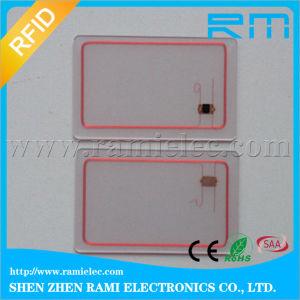 125kHz&13.56MHz Active RFID Card/Transparent RFID Card/Rewritable RFID Card pictures & photos