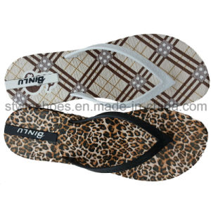 New Arrival Fashion Leopard Printing Flip Flop Slippers for Ladies