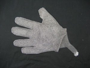 Chain Mail Protective Cut Resistant Work Glove pictures & photos