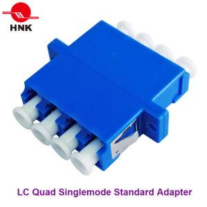 LC Quad Singlemode, Multimode, Om3 and APC Fiber Optic Adapter pictures & photos