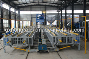 Fully Automatic Vertical Double Open EPS Sandwith Wall Panel Making Machine pictures & photos