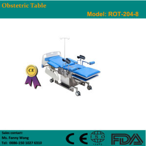 2015 Promotion! ! Electric Obstetric Table (ROT-204-8) -Fanny pictures & photos