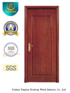 Simplified Style MDF Door for Interior with Brown Color (xcl-028) pictures & photos