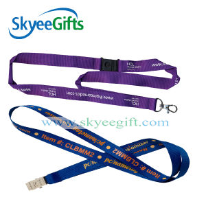 Heat Transfer Printed ID Card Holder Lanyard for Staff pictures & photos