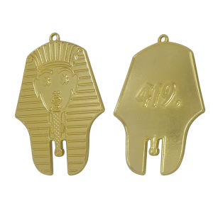 Egyptian Head Metal Charms in Gold Color pictures & photos