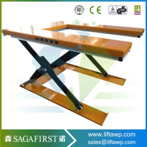 2ton Static Custom Goods Scissor Cargo Pallet Lift Table Price pictures & photos