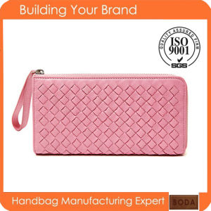 New Design Fashion Genuine Leather Purse pictures & photos