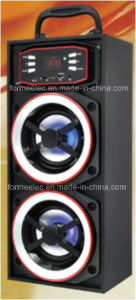 2.0CH Wooden USB SD Speaker 3W*2 Bg316A Portable Speaker pictures & photos