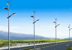 Wind Hybrid Solar Powered LED Street Lamps for Road Path Garden Square Plaza pictures & photos