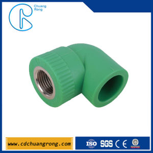 Slurry Pipe Fittings PPR Female Threaded Elbow pictures & photos