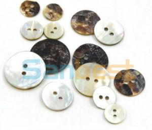 High Quality Fashion Shell Buttons for Shoes pictures & photos