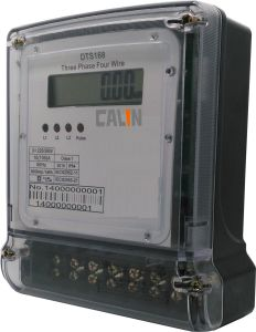 Three Phase Four Wires Multifunction Energy Meter pictures & photos