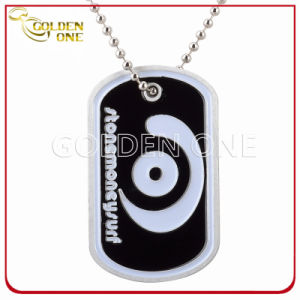 Personalized Color Fill Stainess Steel Dog Tag with Ball Chain pictures & photos