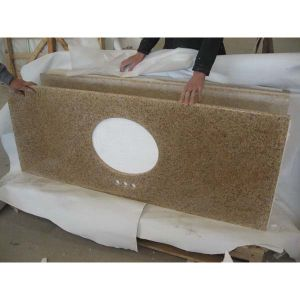 G682 Sun Set Gold Prefab Granite Countertop pictures & photos