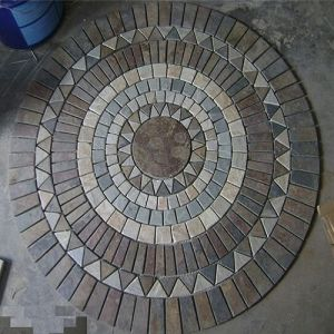 Natural Slate Pavestones/Stepping Stones for Garden Landscaping pictures & photos