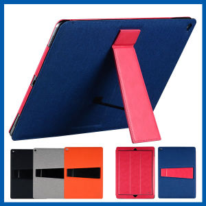 Leather Smart Kickstand Folding Case for iPad PRO pictures & photos